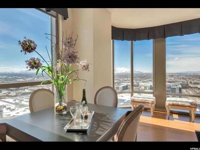 Home for sale at 99 W South Temple St #2304, Salt Lake City, UT  84101. Listed at 892000 with 2 bedrooms, 2 bathrooms and 1,481 total square feet