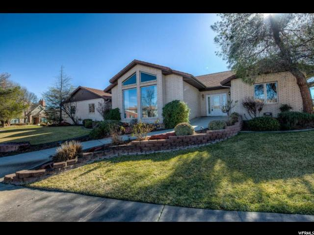Single Family للـ Sale في 1190 OLD FARM Road 1190 OLD FARM Road Santa Clara, Utah 84765 United States