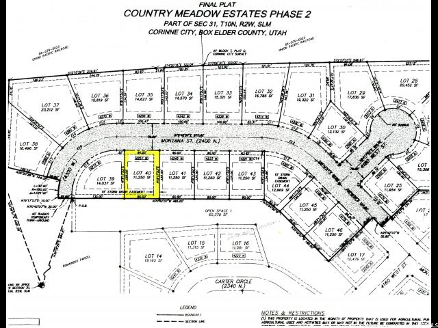 Land for Sale at 4257 W 2400 N 4257 W 2400 N Corinne, Utah 84307 United States