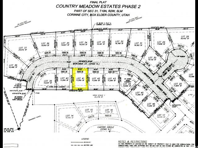 Land for Sale at 4245 W 2400 N Corinne, Utah 84307 United States