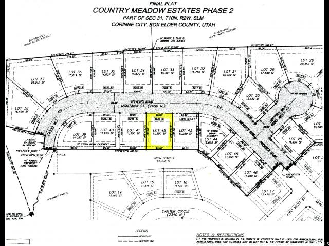 Land for Sale at 4233 W 2400 N 4233 W 2400 N Corinne, Utah 84307 United States