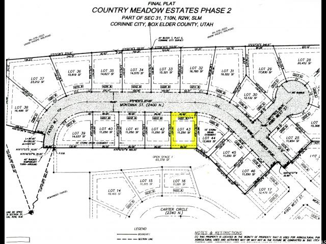 Land for Sale at 4221 W 2400 N Corinne, Utah 84307 United States