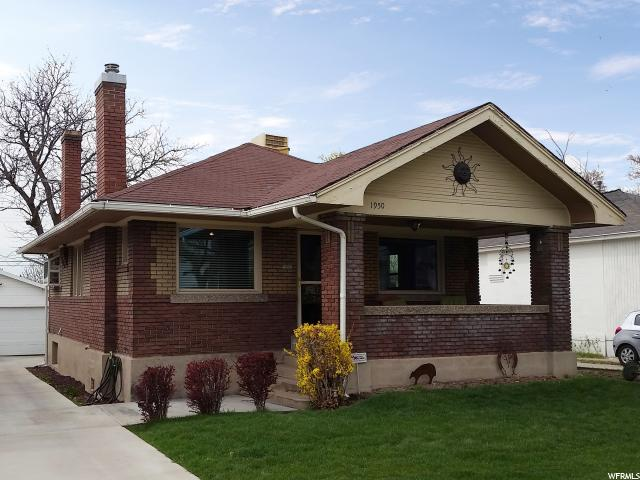 Home for sale at 1950 S 1300 East, Salt Lake City, UT  84105. Listed at 315000 with 3 bedrooms, 2 bathrooms and 1,777 total square feet