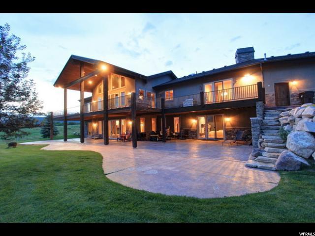 Unique la famille pour l Vente à 1366 W HYLANDER Drive Oakley, Utah 84055 États-Unis
