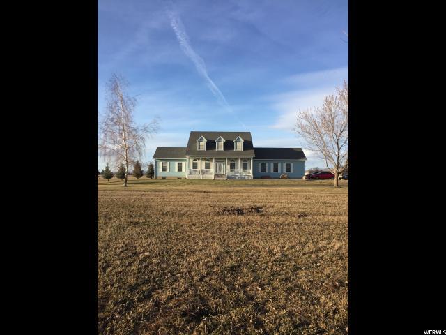 单亲家庭 为 销售 在 1347 E 800 S Preston, 爱达荷州 83263 美国