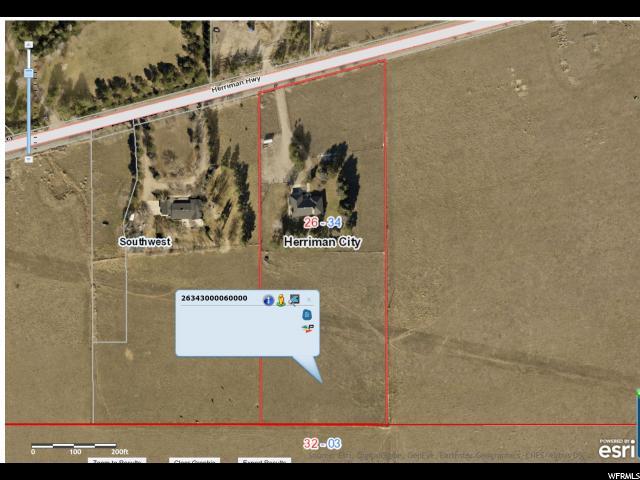 Terrain pour l Vente à 7005 W HERRIMAN HWY Herriman, Utah 84096 États-Unis
