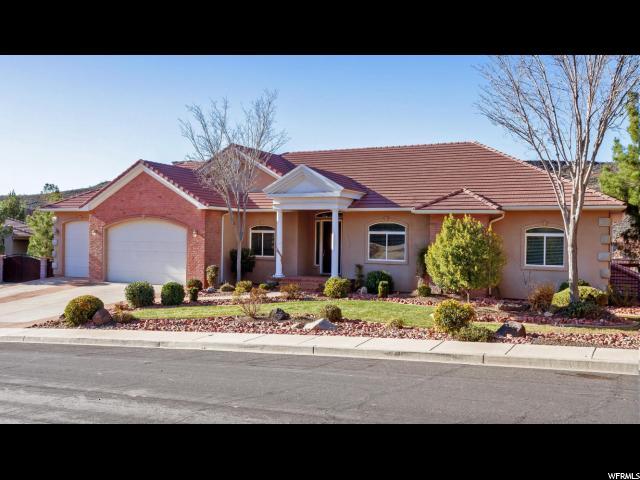 单亲家庭 为 销售 在 995 CHIPPEWA WAY 华盛顿, 犹他州 84780 美国