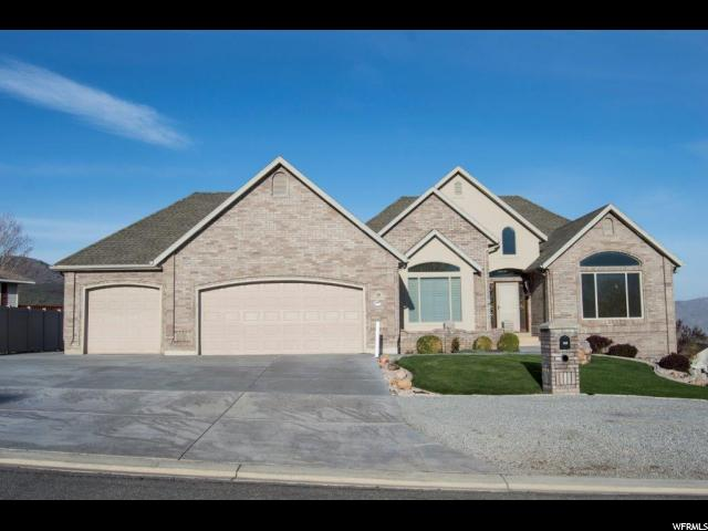 Один семья для того Продажа на 349 N ESCALANTE Drive Elk Ridge, Юта 84651 Соединенные Штаты