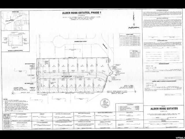 أراضي للـ Sale في 7018 W SKY HAVEN Lane Herriman, Utah 84096 United States