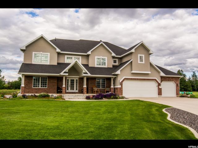 单亲家庭 为 销售 在 2331 S 3300 W 查尔斯顿, 犹他州 84032 美国
