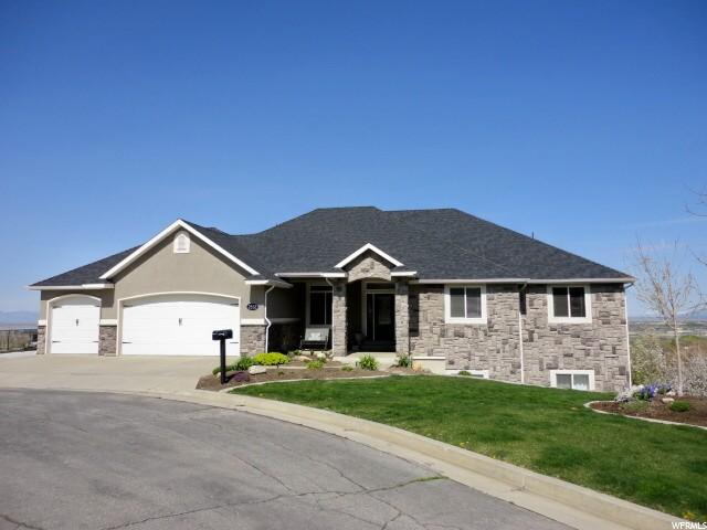 单亲家庭 为 销售 在 2532 S ELM GROVE Drive Perry, 犹他州 84302 美国