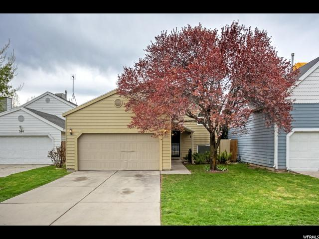 Home for sale at 338 E Park Creeke Ln, Salt Lake City, UT  84115. Listed at 320000 with 4 bedrooms, 2 bathrooms and 2,030 total square feet