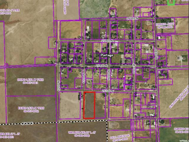 Land for Sale at 9170 W 25700 N Portage, Utah 84331 United States