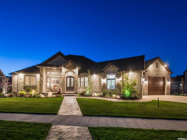 Один семья для того Продажа на 1208 W MIDGE Drive Bluffdale, Юта 84065 Соединенные Штаты
