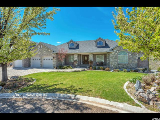 Single Family for Sale at 403 W HALEYS LOOKOUT Elk Ridge, Utah 84651 United States