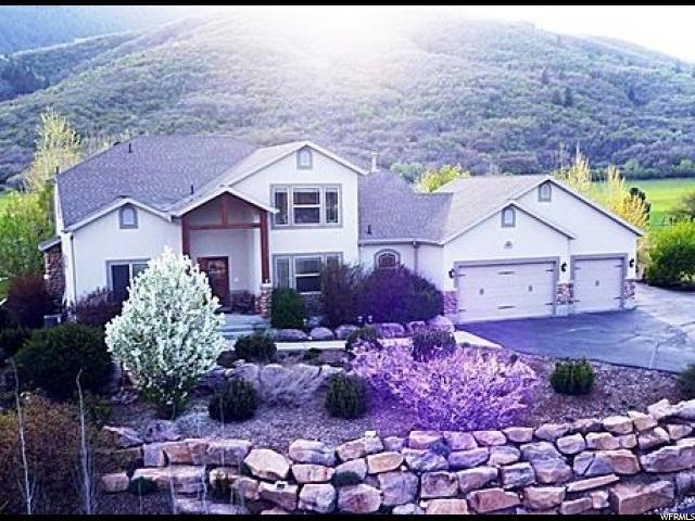 单亲家庭 为 销售 在 4453 N 3150 E Liberty, 犹他州 84310 美国