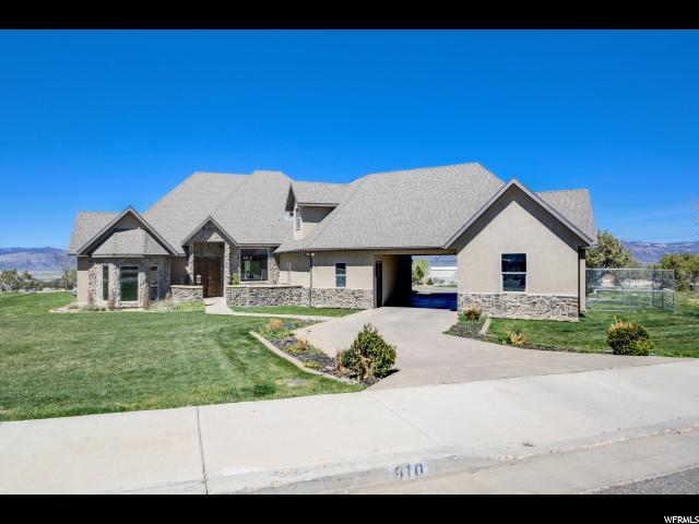 Unique la famille pour l Vente à 910 S 950 E Ephraim, Utah 84627 États-Unis