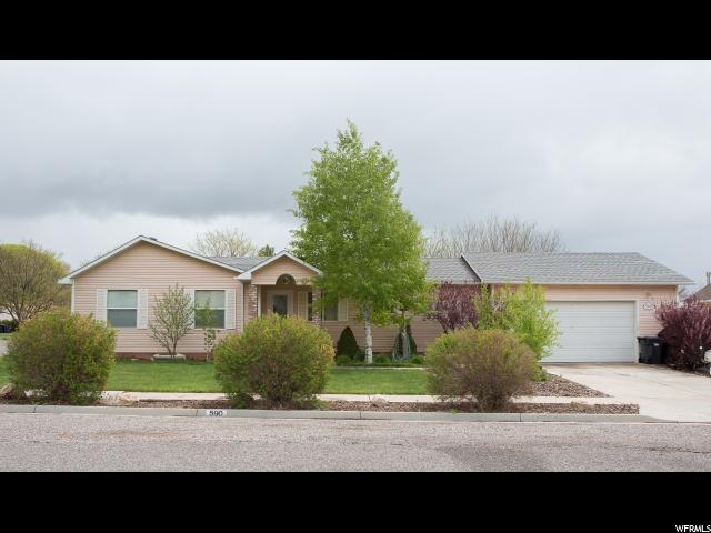 Single Family for Sale at 590 N 600 W Richfield, Utah 84701 United States