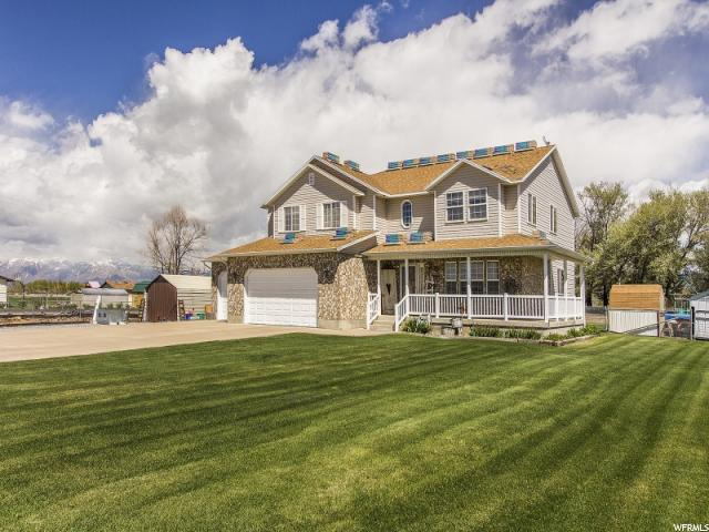 单亲家庭 为 销售 在 2404 N 4500 W Hooper, 犹他州 84315 美国