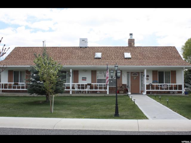 Single Family for Sale at 595 W CANYON Lane 595 W CANYON Lane Ferron, Utah 84523 United States