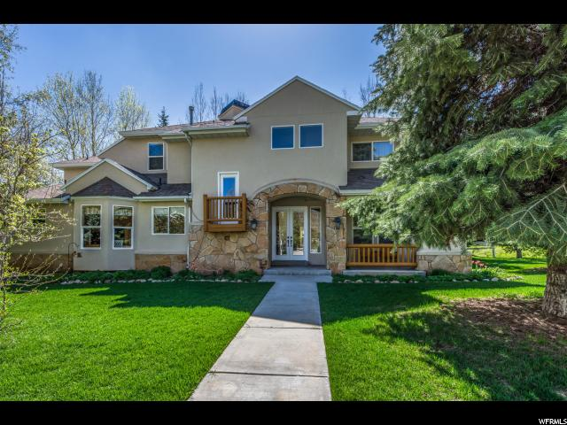 Single Family for Sale at 1632 W FORT Road Park City, Utah 84098 United States