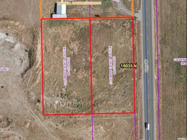 أراضي للـ Sale في 16035 N 6000 W Riverside, Utah 84334 United States