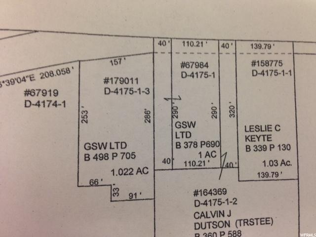 705 W MAIN Delta, UT 84624 - MLS #: 1447580