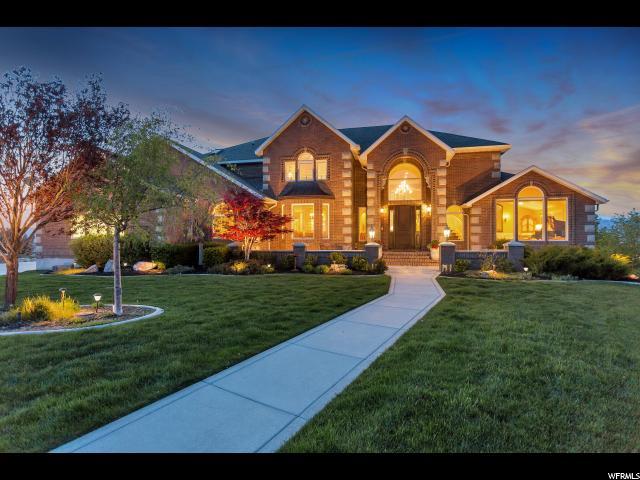 Один семья для того Продажа на 396 W HALEYS LOOKOUT Elk Ridge, Юта 84651 Соединенные Штаты