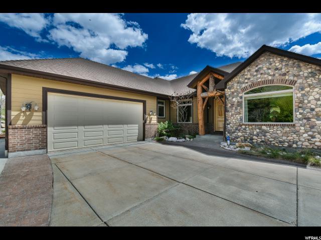 单亲家庭 为 销售 在 5530 W MOUNTAIN VIEW Drive Mountain Green, 犹他州 84050 美国