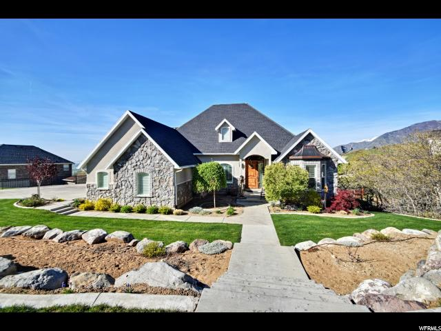 Single Family for Sale at 92 W SALEM HILLS Drive Elk Ridge, Utah 84651 United States