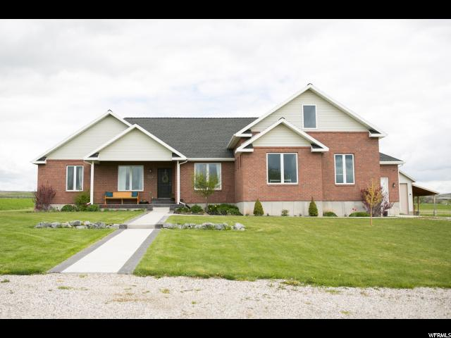 Single Family for Sale at 6757 W 7400 N Newton, Utah 84327 United States