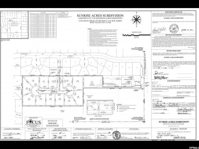 6564 W SUNRISE RIDGE CT West Valley City, UT 84128 - MLS #: 1449046