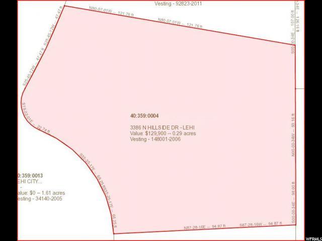 3386 N HILLSIDE DR Lehi, UT 84043 - MLS #: 1449695
