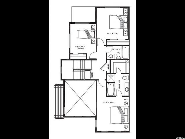 2490 S 1264 PASEO Unit 6-1 Nibley, UT 84321 - MLS #: 1449796