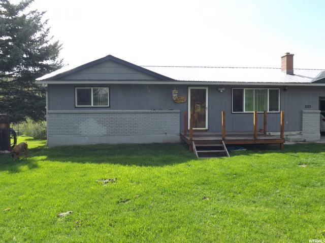 Один семья для того Продажа на 223 BAILEY CREEK Road Soda Springs, Айдахо 83276 Соединенные Штаты