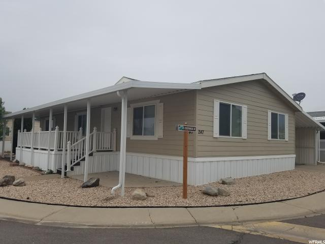 Single Family Home for Sale at 1111 N 2000 W 1111 N 2000 W Unit: 247 Farr West, Utah 84404 United States