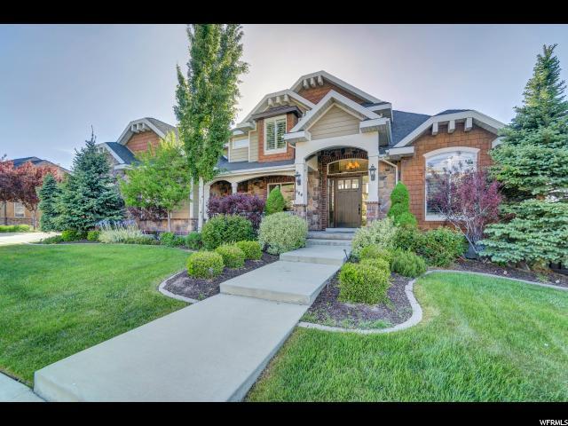 单亲家庭 为 销售 在 664 S EAGLEPOINTE Drive 北盐湖城, 犹他州 84054 美国