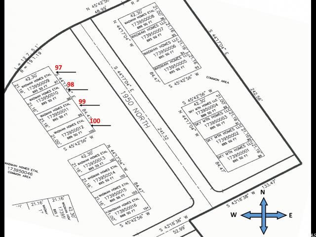 247 W 1950 Unit 99 Harrisville, UT 84414 - MLS #: 1450655