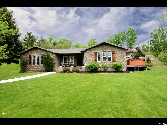 Один семья для того Продажа на 118 MOUNTAIN VIEW Drive Hyde Park, Юта 84318 Соединенные Штаты