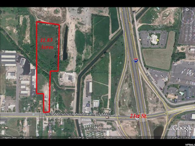 Land for Sale at 1628 W 2100 S West Haven, Utah 84401 United States