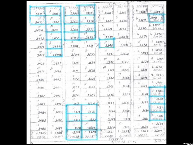 Terrain pour l Vente à Address Not Available Modena, Utah 84753 États-Unis