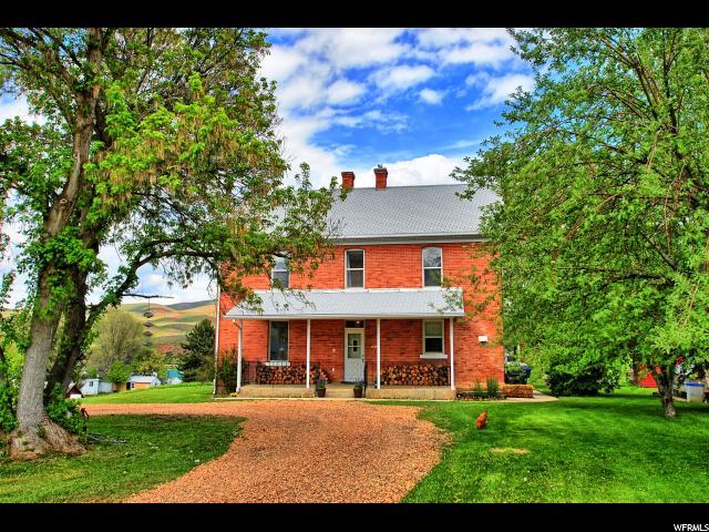 Один семья для того Продажа на 81 S MAIN Street Henefer, Юта 84033 Соединенные Штаты