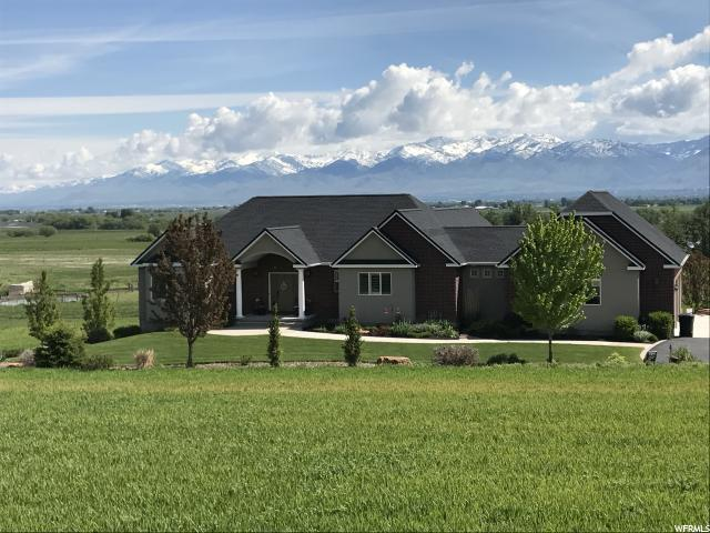 Single Family for Sale at 3310 S HIGHWAY 23 W Wellsville, Utah 84339 United States