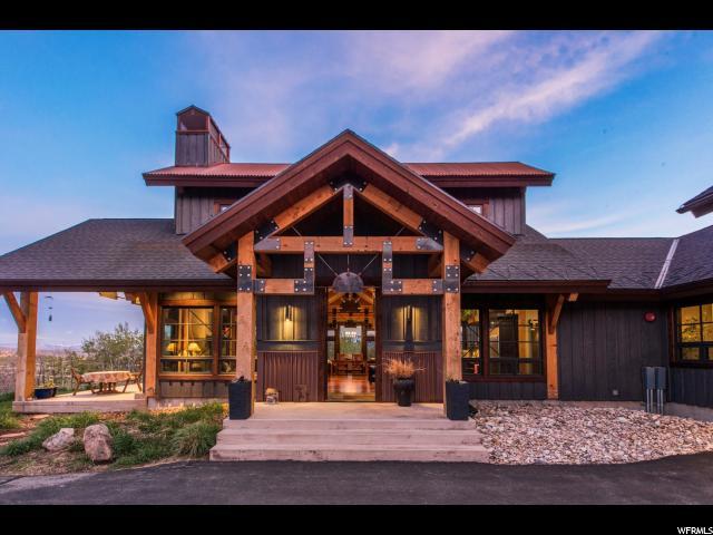 Один семья для того Продажа на 426 W DEER HILL Road Snyderville, Юта 84098 Соединенные Штаты
