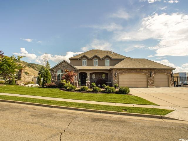 Single Family for Sale at 1244 E BELLA VISTA Drive 1244 E BELLA VISTA Drive Fruit Heights, Utah 84037 United States
