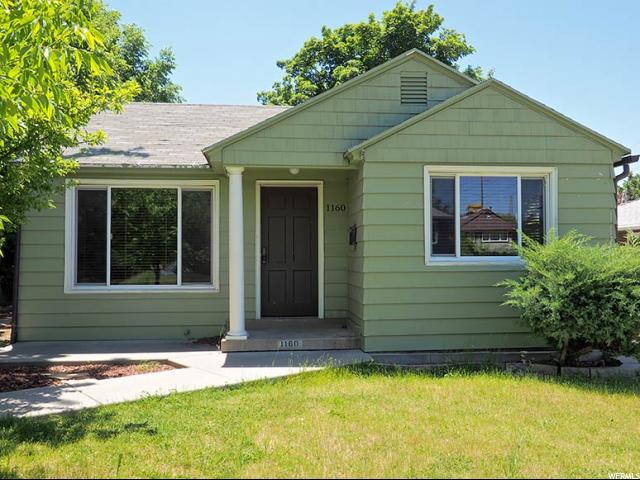 Home for sale at 1160 E Stratford Ave, Salt Lake City, UT 84106. Listed at 339900 with 3 bedrooms, 2 bathrooms and 1,806 total square feet