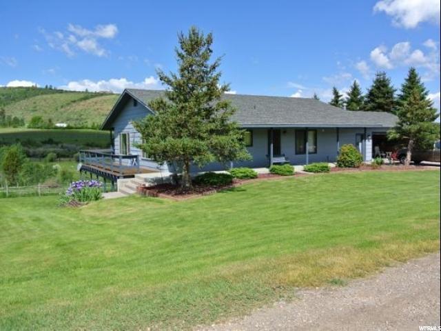Один семья для того Продажа на 413 BAILEY CREEK Road Georgetown, Айдахо 83239 Соединенные Штаты