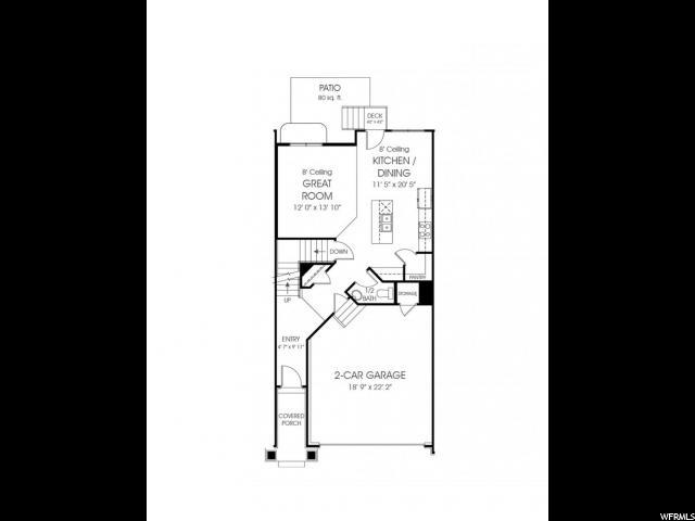 4832 W PILLAR DR Unit 80 Riverton, UT 84096 - MLS #: 1455003