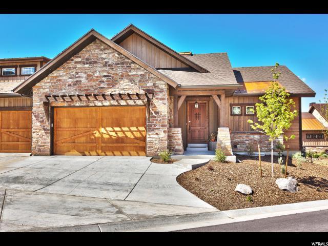 Twin Home للـ Sale في 1674 E LONGVIEW Drive 1674 E LONGVIEW Drive Unit: 71 Hideout Canyon, Utah 84036 United States