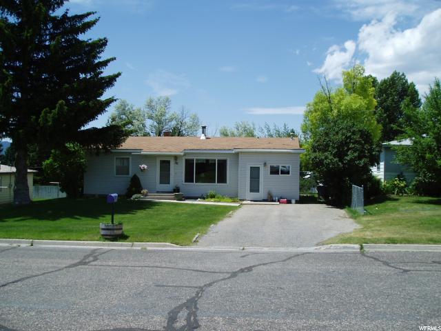 Один семья для того Продажа на 311 N 200 E Soda Springs, Айдахо 83276 Соединенные Штаты